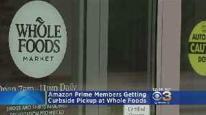 Amazon Prime Members Getting Curbside Pickup At Whole Foods [Video]