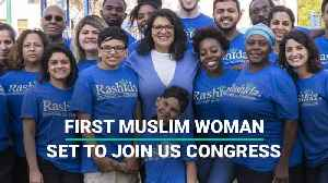 First Muslim Woman Set To Join US Congress [Video]