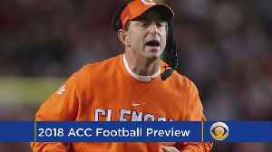 ACC Football Preview [Video]