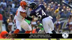 Did the Browns losing games force Joe Thomas to retire? [Video]