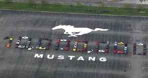 Ford celebrates production of 10 million Mustang sports cars [Video]