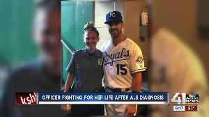Diagnosed with ALS, KCPD officer forges ahead [Video]