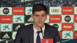 Belgian international Courtois unveiled as Real Madrid goalkeeper [Video]