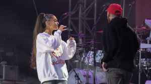 Ariana Grande Responds to Instagram Troll Accusing Her of Cheating on Mac Miller [Video]