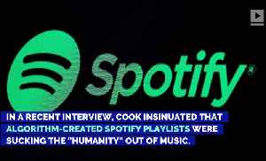 Apple CEO Tim Cook Bashes Spotify [Video]