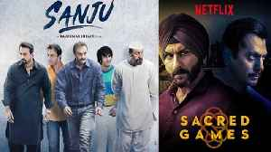 Sacred Games becomes No. 1 beating Sanju & Game of Thrones; Here's how | वनइंडिय&# [Video]