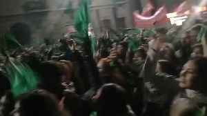 Crowds Continue to Rally in Cordoba After Senate Rejects Legal Abortion Bill [Video]
