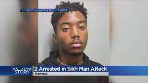 Two Arrested In Sikh Man Attack [Video]