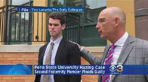 Second Penn State Fraternity Member Pleaded Guilty In Hazing Case [Video]