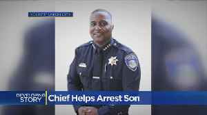 Police Chief Reacts To Son's Arrest In Sikh Man's Beating [Video]