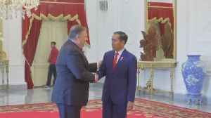 Secretary of State Mike Pompeo Meets With Indonesian President Joko Widodo [Video]