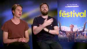 'The Festival': Exclusive Interview With Joe Thomas & Iain Morris [Video]
