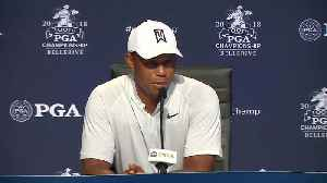 At PGA Championship, all eyes still on Tiger [Video]