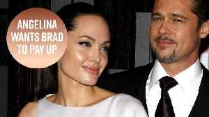 News video: Angelina Jolie says Brad's millions don't count as child support