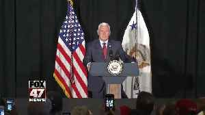 News video: VP Mike Pence says Space Force will be sixth military branch by 2020
