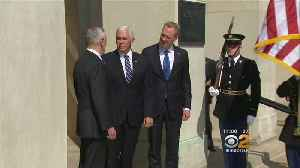 News video: Pence Details Plans For New Space Force Military Branch By 2020