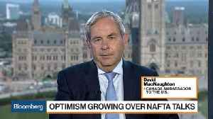 Canadian Ambassador MacNaughton Optimistic About Nafta Talks [Video]