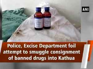 Police, Excise Department foil attempt to smuggle consignment of banned drugs into Kathua [Video]
