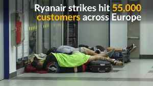 Ryanair in biggest ever one-day strike [Video]