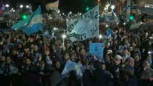 Thousands protest in Argentina after senate rejects bill to legalise abortion [Video]