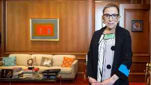 Ruth Bader Ginsburg Celebrates 25 Years On The Supreme Court [Video]