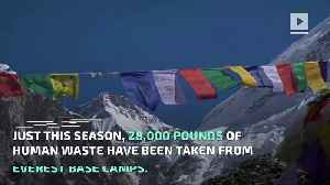 Mount Everest Has A Big Problem With Human Waste [Video]
