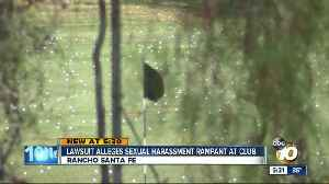 Lawsuit says rampant sexual harassment at country club [Video]