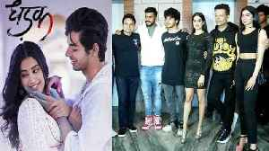 Jhanvi Kapoor & Ishaan Khatter look STUNNING at Dhadak Success Party; Watch UNCUT video | FilmiBeat [Video]