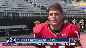There's another Flacco in town, Joe Flacco's brother Tom is the new quarterback at Towson University [Video]
