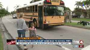 Parents notified of bus delays the day before school [Video]