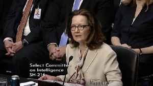 News video: Cables Shed Light On Waterboarding At Prison Run By CIA's Gina Haspel
