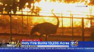 Air Quality Worsens As Holy Fire Continues To Burn [Video]