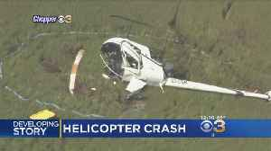 Helicopter Crashes Near Ocean City Municipal Airport In NJ; 2 Injured [Video]