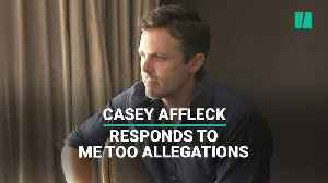 Casey Affleck Responds To Me Too Allegations [Video]