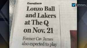 Shannon Sharpe shares his feelings about The Plain Dealer after their headline about 'Lonzo Ball and the Lakers' playing in Clev [Video]