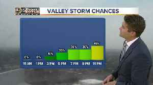 Storms to move into Valley Friday night [Video]