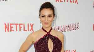 Alyssa Milano Defends Controversial Netflix Series 'Insatiable' and Talks Activism in Hollywood [Video]