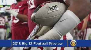 Big 12 Football Preview [Video]