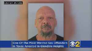 David Sauceda Medina, Most Wanted Sex Offender In Texas, Captured In Glendale Heights [Video]