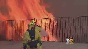 Suspect In California Wildfires Makes Wild Outbursts In Courts [Video]