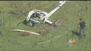 Two People Injured After Helicopter Crashes In New Jersey [Video]
