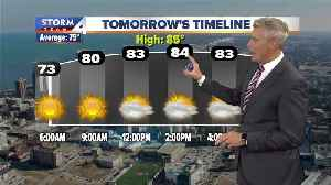 Sunny and humid Saturday in store [Video]