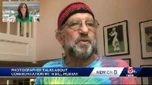 Vineyard photographer speaks about confrontation with Bill Murray [Video]