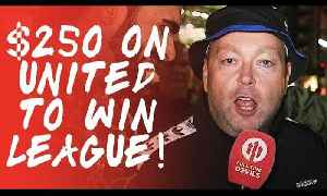£250 on United To Win The League! | Manchester United 2-1 Leicester City [Video]