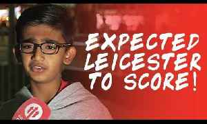Expected Leicester To Score! | Manchester United 2-1 Leicester City [Video]