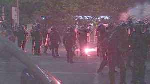 News video: Romanian police use tear gas to disperse anti-corruption protest
