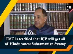 TMC is terrified that BJP will get all of Hindus votes: Subramanian Swamy [Video]