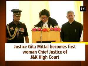 Justice Gita Mittal becomes first woman Chief Justice of J&K High Court [Video]