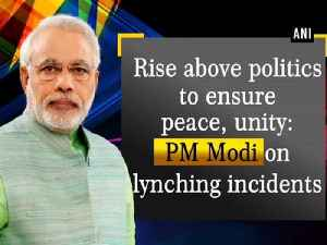 Rise above politics to ensure peace, unity: PM Modi on lynching incidents [Video]