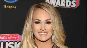 Carrie Underwood's Baby Bump! [Video]